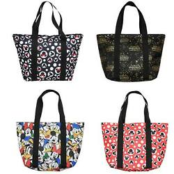 Disney Tote Travel Zip Bag Choose Mickey Mouse Minnie Donald Goofy Star Wars $22.95
