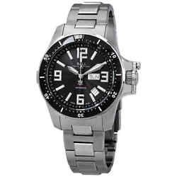 Ball Engineer Hydrocarbon Airborne Chronometer Automatic Black Dial Menand039s Watch