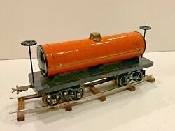 Reproduction Gauge 2 Voltamp 2113 Tank Car By John Harmon With Cast Iron Wheels