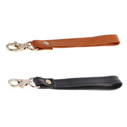 2x Real Leather Wristlet Replacement Keychain Wrist Strap Bag Accessories $8.60