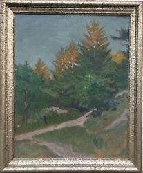 Impressionist Max Werner 1879-1952 Sand Dunes At The Baltic Sea - 28x23 3/16in