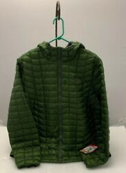 THE NORTH FACE MEN'S THERMOBALL HOODIE Scallion Green  Camo XL Jacket RARE NWT