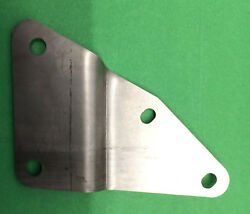 TRIUMPH TR25W L.H. H237 SILENCER BRACKET HIGH LEVEL JtCLASSIC STAINLESS STEEL