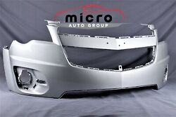 10 11 12 13 14 15 Equinox Front Bumper Oem Painted Silver 20983230