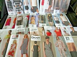 Lot Of 19 Large Vogue Sewing Patterns All Uncut/factory Folded