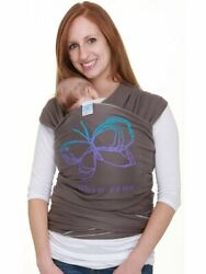 Moby Wrap The Comfortable Rebersible Baby Carrier - Purple Tulip - One Size