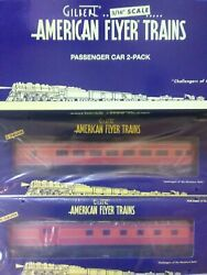 American Flyer Southern Pacific Streamliner Combo And Observation Cars 6-47918 Ts