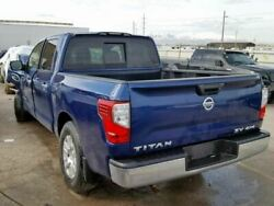 Trunk/Hatch/Tailgate Without Rear View Camera Fits 16-17 TITAN XD 1106793