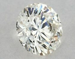 Free Fedex Shipping 0.73ct Natural Round Loose Diamond H Color Si2 Clarity Igi