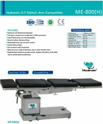 Operation Theater Table Hydraulic And Mechanical C-arm Compatible Hydraulic Ft
