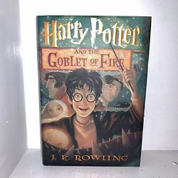 Rare Mint Harry Potter And The Goblet Of Fire True First Edition 1st Print