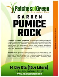Bonsai And Succulent Garden Pumice Rock From Patches Of Green - 14 Dry Quarts Bag