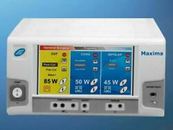 Model Maxima Electro Surgical Generator Touch Screen Power 400w Machine Cautery
