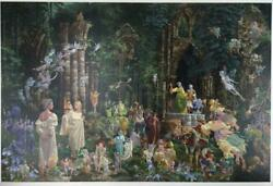 Court Of The Fairies By James Christensen Believerand039s Etching Edition 766/1000