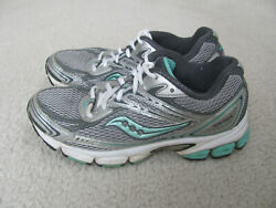 Saucony Ignition 2 Women's Silver and Green Running Shoes Size 7 12