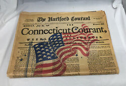 Hartford Courant Newspaper July 4 1976 Newspaper Complete Ads Comics Connecticut