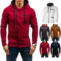2020 Men Warm Hoodie Hooded Sweatshirt Coat Jacket Outwear Jumper Winter Sweater