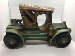 Vintage Ceramic Car Table Top Lighter