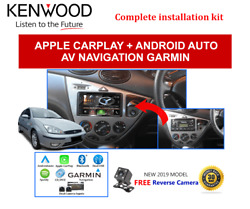 Kenwood Dnx5180s Stereo Upgrade To Suit Ford Focus Lr 2002-2004
