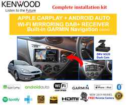 Kenwood Dnx9190dabs Stereo Upgrade To Suit Ford Focus Lr 2002-2004