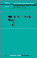 The Chemistry Of The Hydrazo, Azo And Azoxy Groups, Volume 2