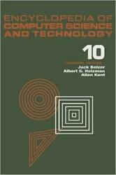 Encyclopedia Of Computer Science And Technology Volume 10 Linear And Matr...