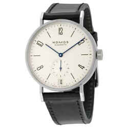 Nomos Tangomat Datum Automatic White Dial Stainless Steel Menand039s Watch 602