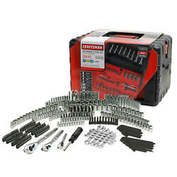 Craftsman 320 Piece Mechanicand039s Tool Set Inches And Metric With 3 Drawer Case Box