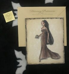 Disney Princess Designer Collection Note Card Pocahontas