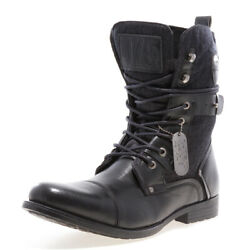 J75 by Jump Men's DEPLOY Black Military Boot