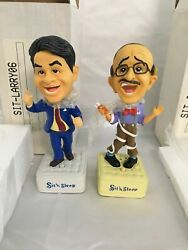 New Rare Vintage Larry And Irwin Sit 'n And Sleep Talking Bobblehead Bobble Heads