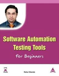 Software Automation Testing Tools For Beginners