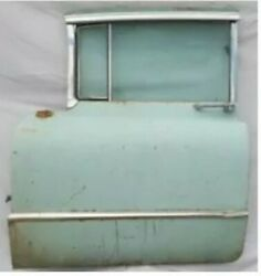 1955 Cadillac Left Side Front Door Drivers Side Glass Cracked Window Motor Works