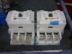 Cutler Hammer C825kn9 200a Wye Delta Start Contactor With 120v Coil