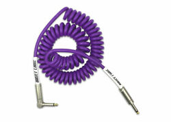 Bullet Cable Mini Coil 15and039 Feet Straight/angle Cable - Purple