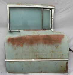 1955 Cadillac Front Right Side Passenger Door Window Motor Workand039s Surface Rust