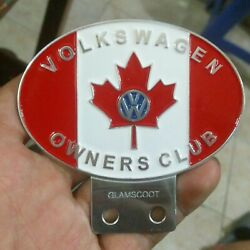 Vintage Vw Volkswagen Canada Car Club Badges In Badges And Mascots Bus Thing