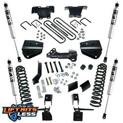Superlift K164f 4and039and039 Lift Kit W/ Fox Shocks For 2017-19 F-250/f-350 Sd 4wd Diesel