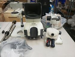 Vision Engineering Mantis Inspection Microscope W 6xslwd And Led Lamp And Boom Stand