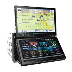 Soundstream Vrn-dd7hb Dvd Cd Player Dual Touch Screen Bluetooth Gps Usb Android