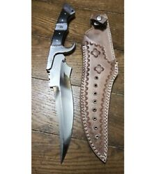 17andrdquo Bds Cutlery Custom Handmade D2 Tool Steel Hunting Full Tang Bowie Knife