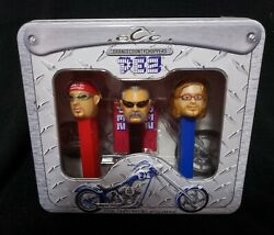 Orange County Choppers Pez Set Collectible New In Tin Case