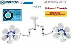 Ceiling Operation Theater Operating Lamp Double Led Ot Surgical Lights 130000