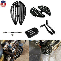 Heel Toe Shift Linkage Passenger Driver Floorboard Pedal Fit For Harley Touring