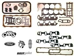 1958-1968 Ford Lincoln And Mercury 383 410 430 462 Mel   Full Engine Gasket Set