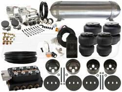 Complete Air Suspension Kit - 1975-1979 Lincoln Continental - Level 3 - Bcfab
