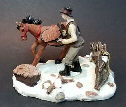 Holiday Time Collection Horse And Boy Fits Lemax, Dept. 18