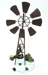 Holiday Time Collection Windmill Fits Lemax, Dept. 18