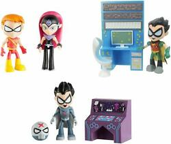 Lot Of 3 Teen Titans Go 3 Figure Red X, Robin, Starfire The Terrible Bundle
