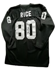 """Mitchell And Ness """"jerry Rice"""" Throwback Jersey Nfl Oakland Raiders Size 54 / Xxxl"""